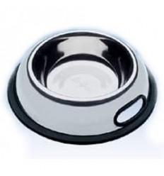 Alimentador/Bebedouro Karlie Inox Antiderrapante 13cm (500ml)