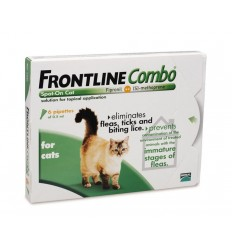 Frontline Combo - Gatos - 3 pipetas
