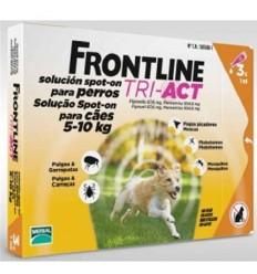 Frontline Tri-Act S Cão 5-10KG - 3 Pipetas