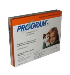 PROGRAM GATOS ORAL 133 MG - 6 ampolas