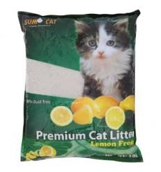 Areia - Sumo Cat Litter 10L - Aroma Limão
