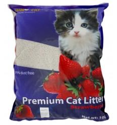 Areia - Sumo Cat Litter 10L - Aroma Morango