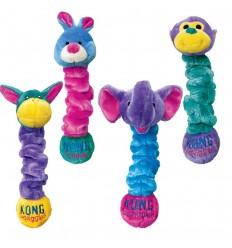 Brinquedo Kong Peluche Elástico Squiggles c/ som - M (50 cm)