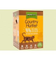 Natures Menu Country Hunter Gatos Húmidos c/ Frango Pack 6x85Gr