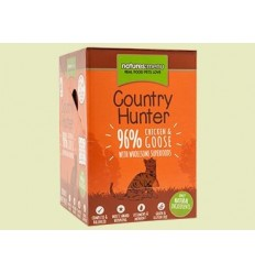 Natures Menu Country Hunter Gatos Húmidos c/ Frango e Ganso Pack 6x 85Gr