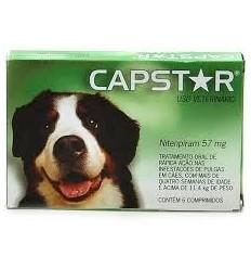 Capstar 57 Mg Comprimidos p/Cães Grandes