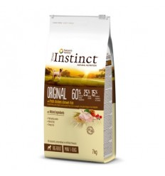 Instinct Dog Original Mini Adulto Frango 2kg