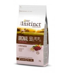 Instinct Dog No Grain Medium/Máxi Adult Salmão 2kg