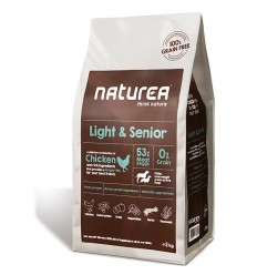 Naturea Light & Sénior (Chicken sem Cereais) 12kg