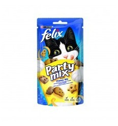 Purina Felix Party Mix Snacks Queijo 60g