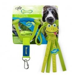 Brinquedo AFP p/ Cão Tugger com Pega c/ Sapo Verde