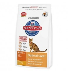 Hill´s Science Plan Feline Adult Chicken 10kg (APROX.VALIDADE 03/2020)