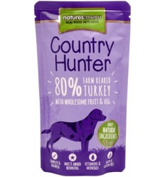 Natures Menu Country Hunter Dog com Carne Peru Saqueta 150Gr