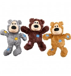 Brinquedo Kong Peluche Wild Knots Urso Cinza - XL (33,5 cm)
