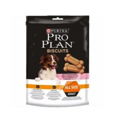 Purina Pro Plan Snacks Biscuit Salmão All Size 175g