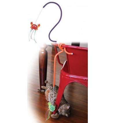 Brinquedo Kong Connects Borboleta p/ gatos