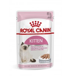 Royal Canin Gatinhos Loaf Húmidos Saquetas 85g x 12uni.