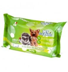 Pet Cleaning Toalhitas de Limpeza Exotic p/ Cão e Gato 40 uni.