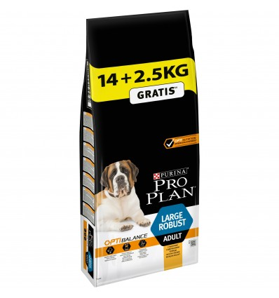 Purina Pro Plan Large Robust Adult Optibalance 14kg + 2.5kg OFERTA