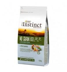 Instinct Dog No Grain Medium/Máxi Puppy Salmão 12kg