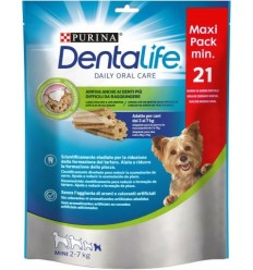 PURINA DentaLife Snacks Mini 2-7kg (maxi pack 21 sticks)