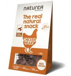 Naturea Snacks p/ Cão Chicken Heart 80gr