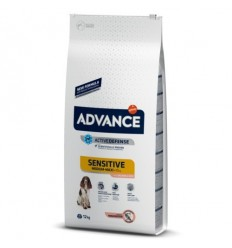 Advance Cão Sensitive Medium/Maxi Salmão e Arroz