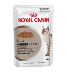 Royal Canin Gatos Ageing +12 Húmidos Saquetas 85g