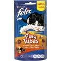 Purina Snacks Felix Play Tubes p/ Gato aromatizado Frango e Fígado 50gr