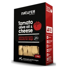 Naturea Snacks p/Cão Tomate, Azeite e Queijo 140g