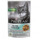 Purina Pro Plan Gatos Húmidos Nutri Savour Sterilised Peixe do Oceano Saq. 85gr