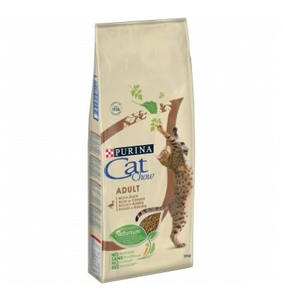 Purina Cat Chow Adult Pato 15Kg