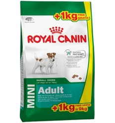 Royal Canin Mini Adult 8Kg + 1kg OFERTA