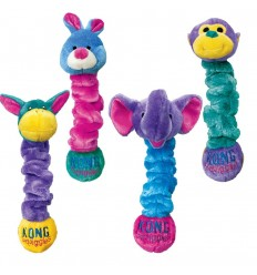 Brinquedo Kong Peluche Elástico Squiggles c/ som - S (40 cm)