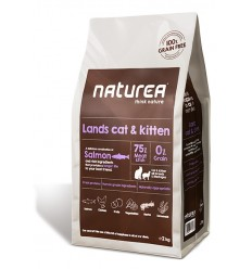 Naturea Lands Cat & Kitten (sem cereais)