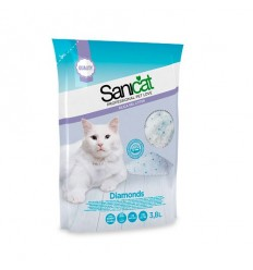Sanicat Areia Gel Sílica Diamonds 15L