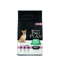 Purina Pro Plan Small & Mini Adult Sensitive Skin Optiderma 3kg