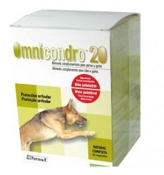 Omnicondro Hifarmax 20mg p/ Cães e gatos - 60 Comprimidos