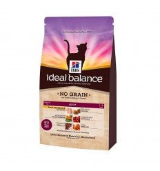 Hill's Ideal Balance Gato Adulto Sem Cereais Frango e Batatas