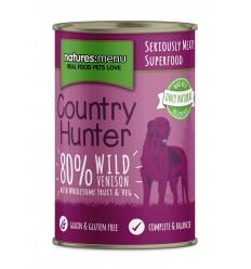 Natures Menu Country Hunter Cão Húmidos c/ Veado Lata 400g
