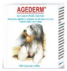Sofcanis Agederm (ácidos gordos) 120 cápsulas p/cães + 10kg