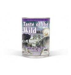 Taste of the Wild Cão Húmidos Sierra Mountain lata 390gr