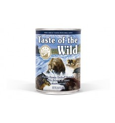 Taste of the Wild Cão Húmidos Pacific Stream Salmão lata 390 gr