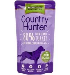Natures Menu Country Hunter Cão Húmidos c/ Carne Peru Saqueta 150Gr