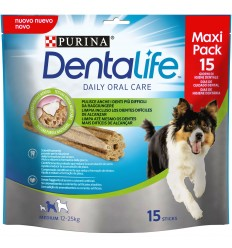 PURINA DentaLife Snacks Medium 12-25kg (maxi pack 15 sticks)