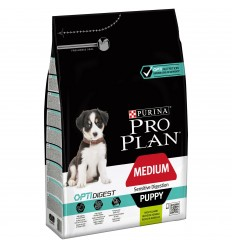 Purina Pro Plan Cão Medium Puppy Sensitive Digestion Optidigest Borrego