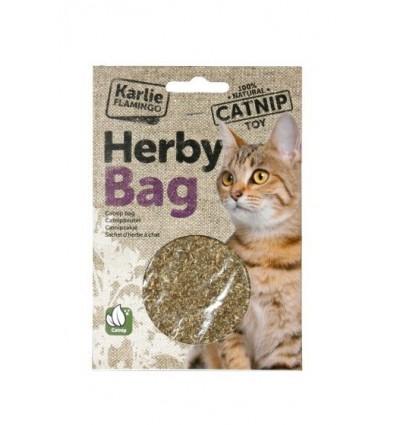 Catnip Karlie erva aromática p/ Gatos 15gr