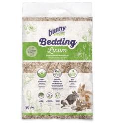 Bunny Nature Cama Linho Natural p/Hamsters, Esquilos e Gerbos 35 lt