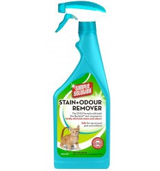 Removedor de Odores Simple Solution p/Gatos 750 ml