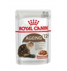Royal Canin Ageing +12 (Gravy), Gatos, Húmidos, Sénior, Alimento